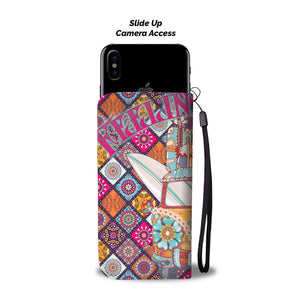 Feeling Groovy Wallet Phone Case