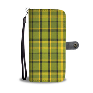 Westy Green Plaid Wallet Phone Case