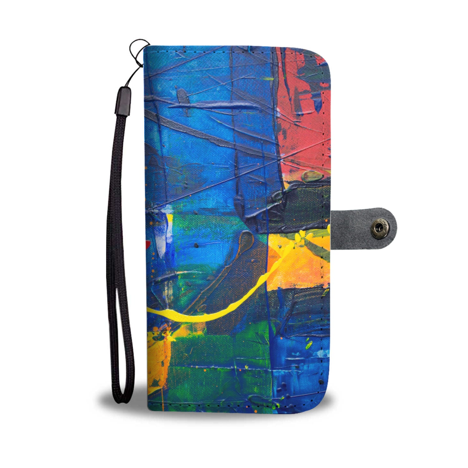 Abstraction V1 Custom Designed Wallet Case