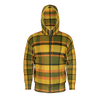 Retro Yellow Plaid Zip Hoodie Version 2