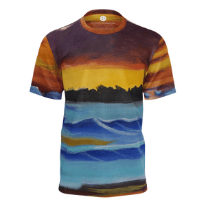 """Harbor Sunset"" Men's Tee"