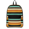 Retro Sunset Stripes Day Pack