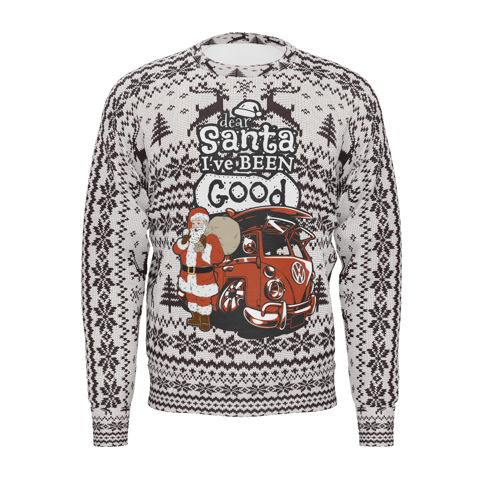 Dear Santa Mens RPET Sweater