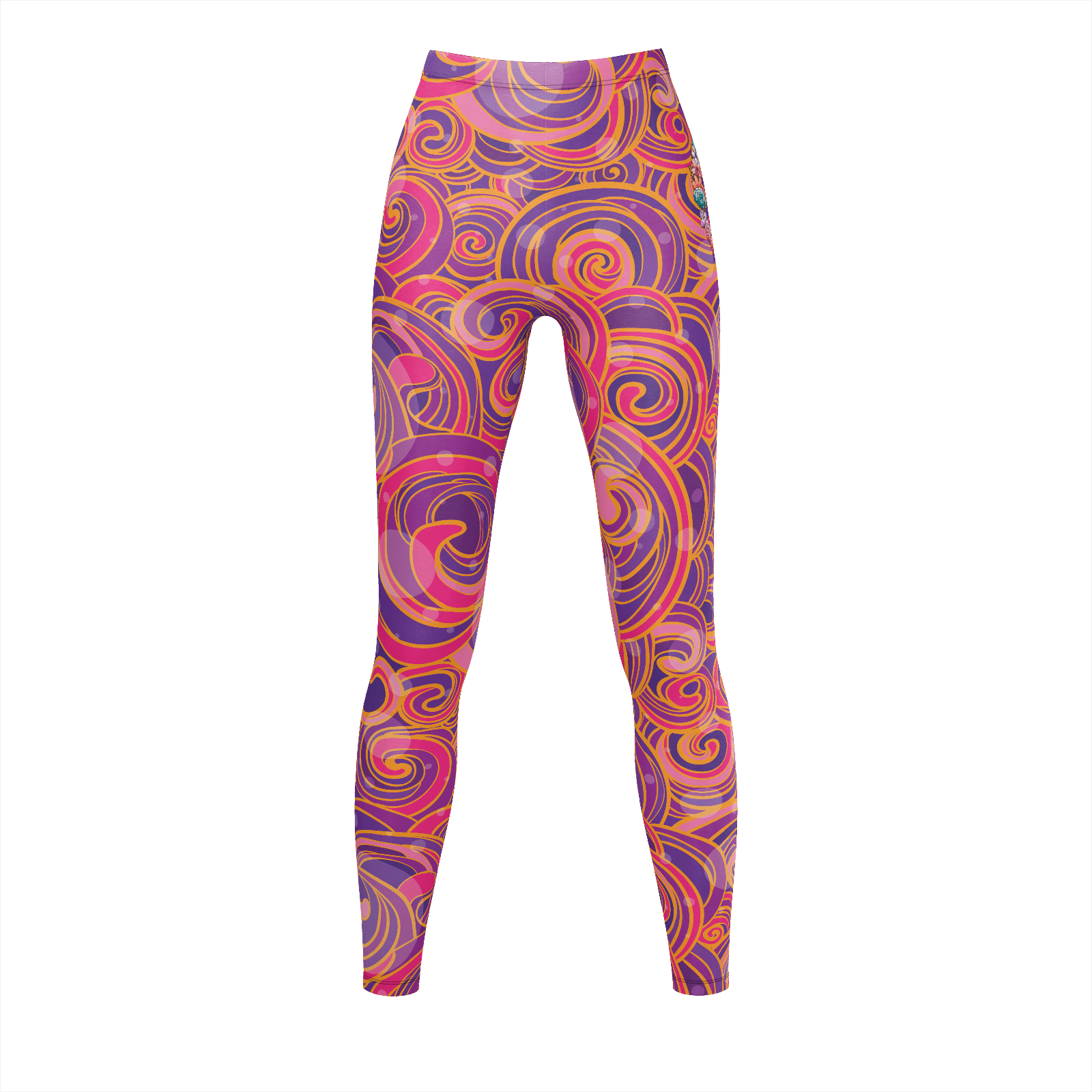 Swirled Peace Leggings