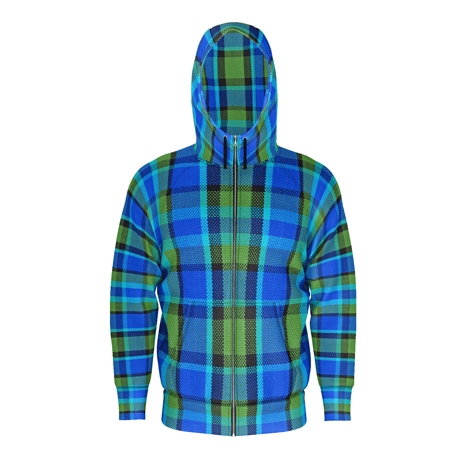 Westy Blue Plaid