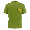 Westfalia Green Plaid On Pocket Tee