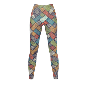Patchwork Leggings