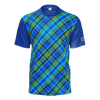 Westfalia Blue Plaid RPET Mens Tee
