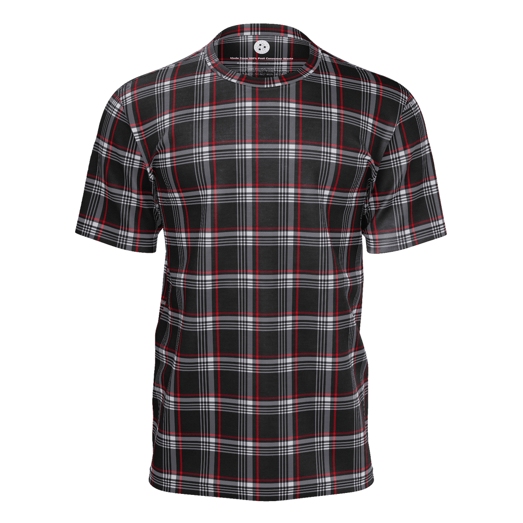 MK2 GTI Clark Plaid red-black Mens Tee