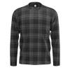 MK7 GTI Clark Plaid Grey & Black Mens Long Sleeve