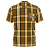 Westfalia Brown Plaid Pocket Tee