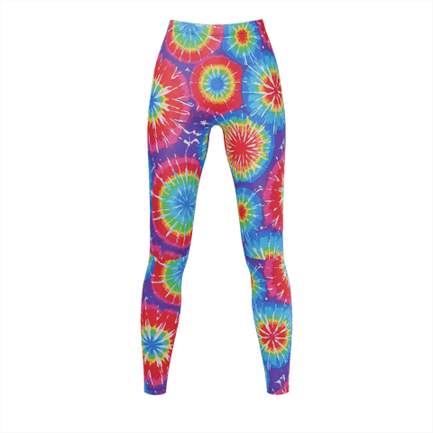 Women's Tie Dye Burst Leggings