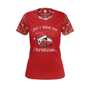All I Want For Christmas Womens RPET Tee