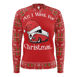All I Want For Christmas Womens RPET Sweater