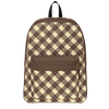 """Ace"" Retro Plaid Backpack"