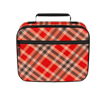 """Brick House"" Retro Plaid Lunchbox"