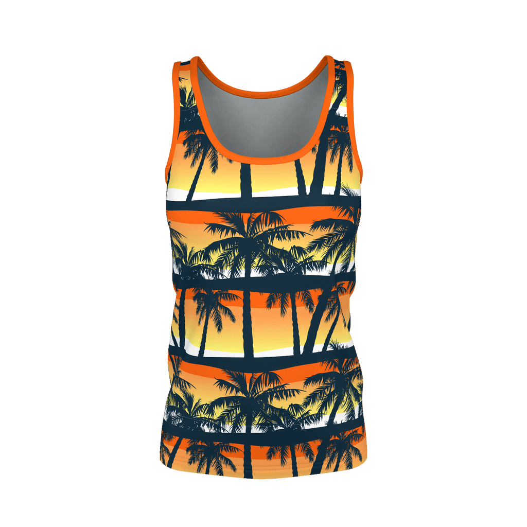 """Hawaiian Sunset"" Pattern Women's Tank"