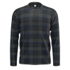 MK7 Clark Plaid  blue & Black Mens Long Sleeve