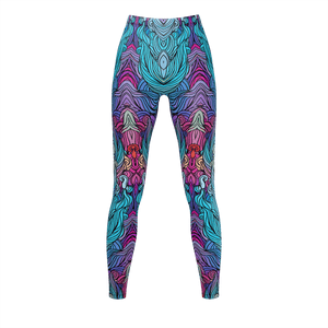 Groovy Hair Ladies Leggings