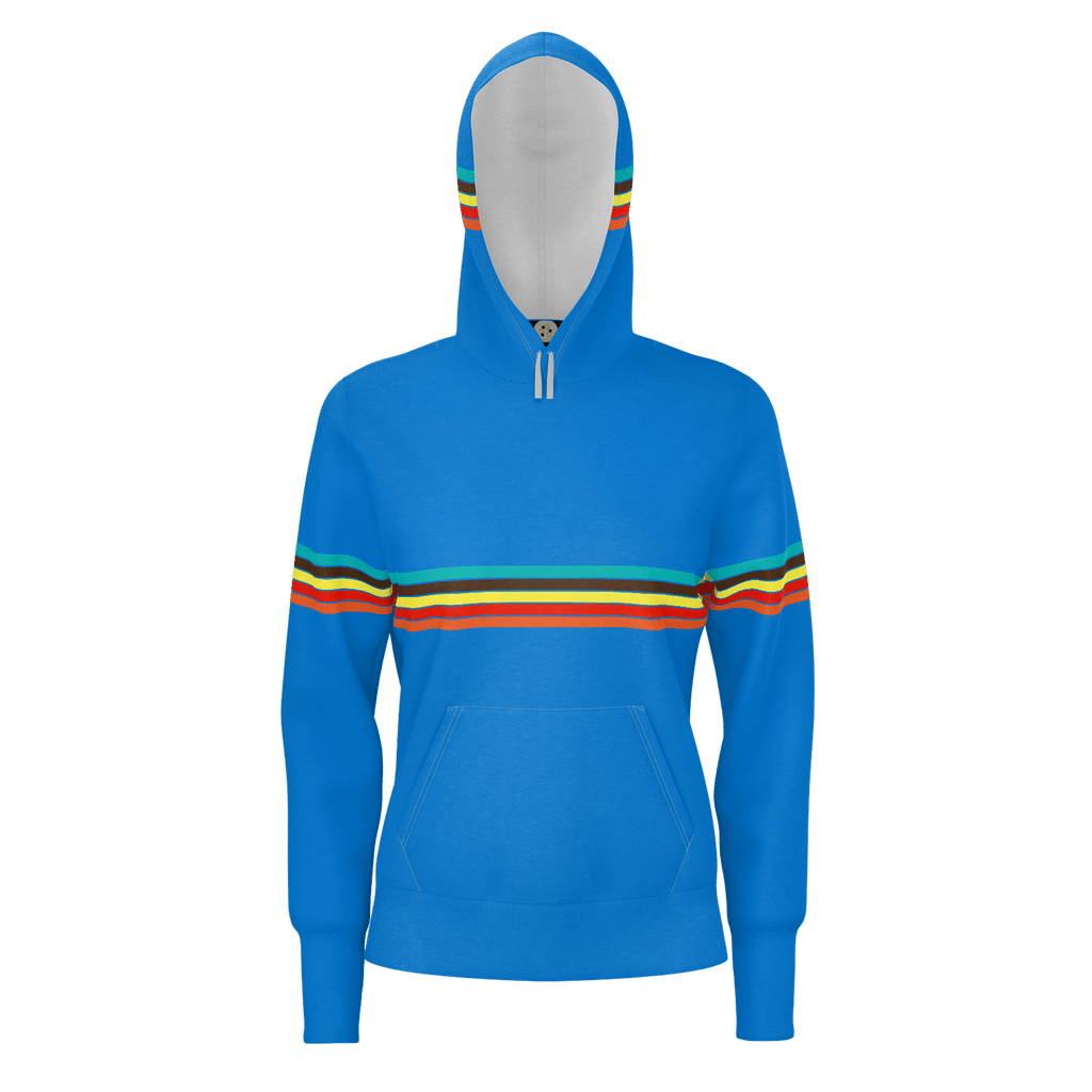 Retro Cruzer Stripes Women's RPET Hoodie