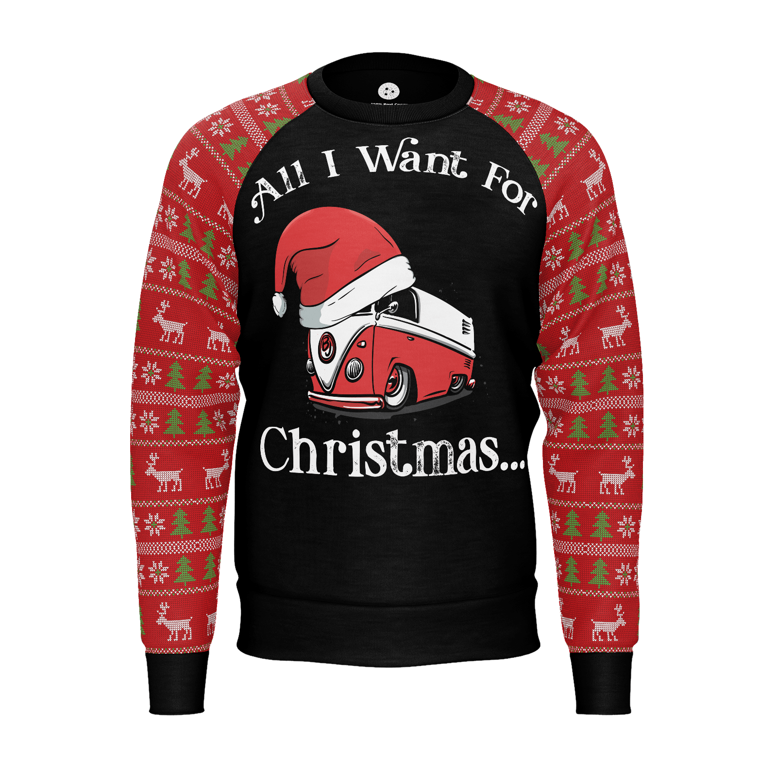 All I Want For Christmas Womens RPET Sweater V2