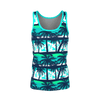 """HAWAIIAN Evening""Pattern Women's Tank"