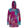 Wavy Wonder Hoodie Dress - RPET