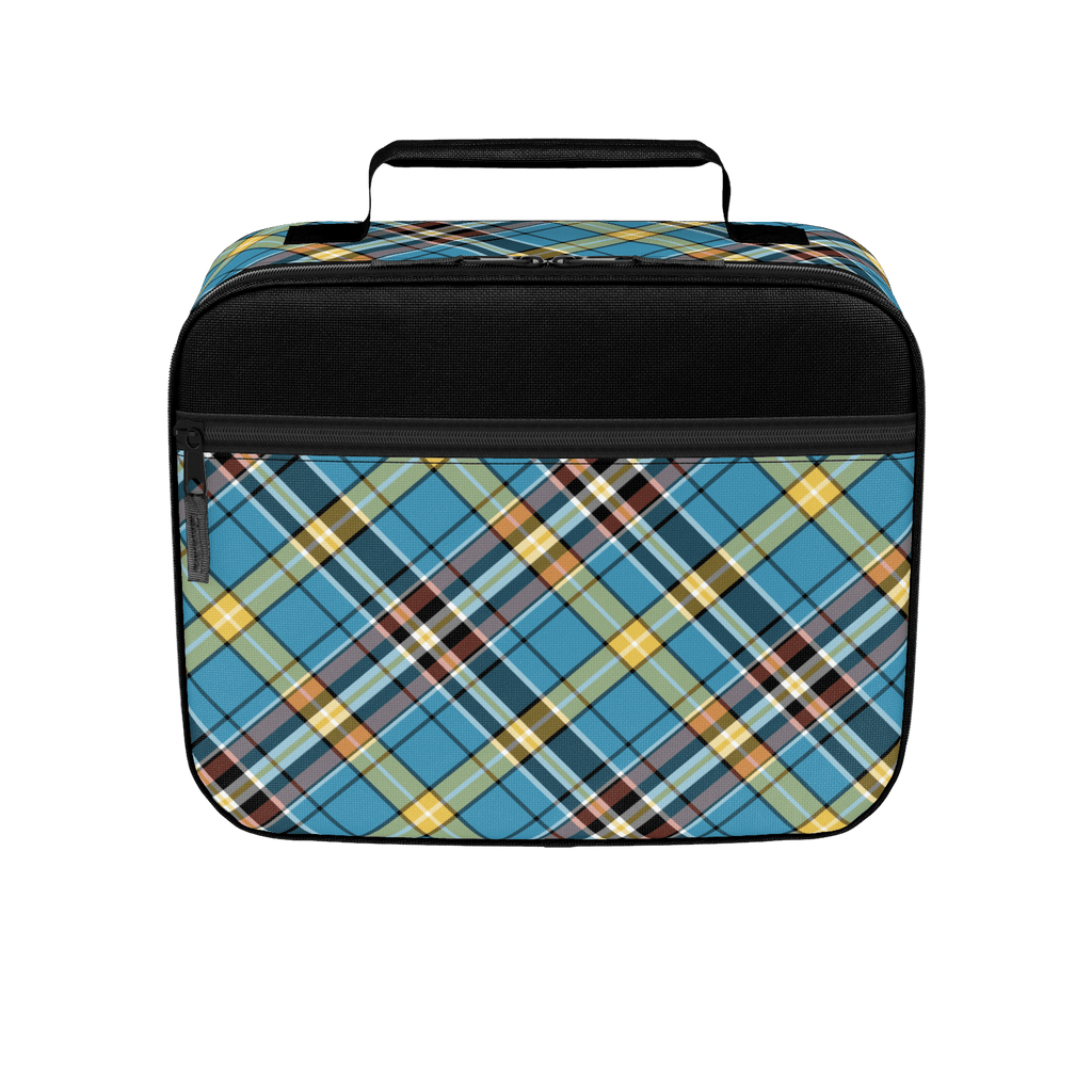 """Nifty"" Retro Plaid Lunchbox"