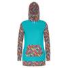Hippie Time Hoodie Dress - RPET