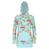 Aloha Bus Hoodie Dress