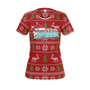 Split Bus Christmas Womens RPET Shirt