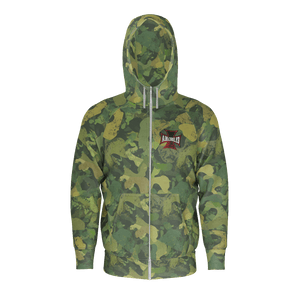 Jungle Urban Camo Zip Hoodie