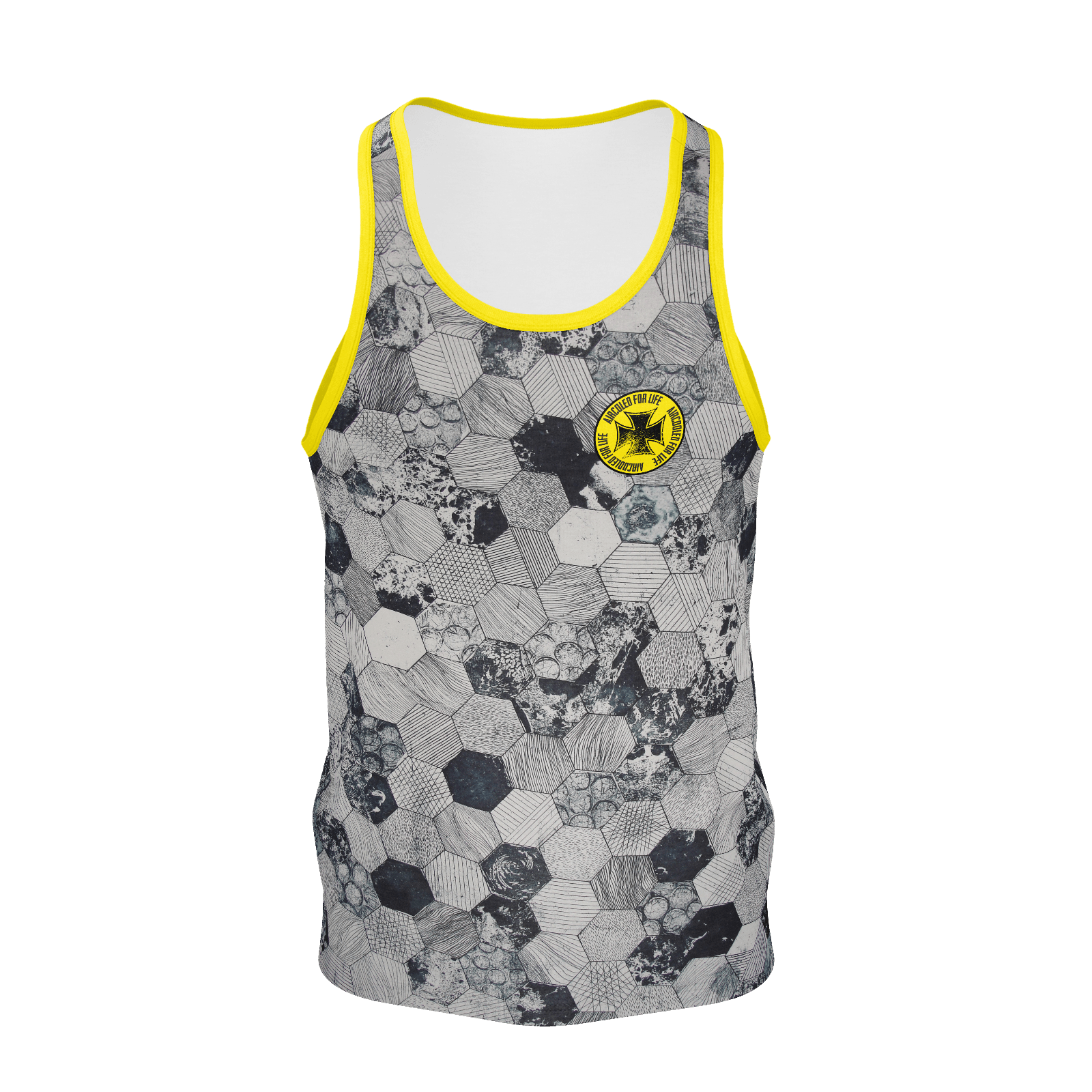 Aircooled For Life Iron Cross Men's Tank