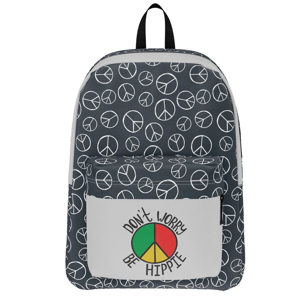 Don't Worry Be Hippie Backpack