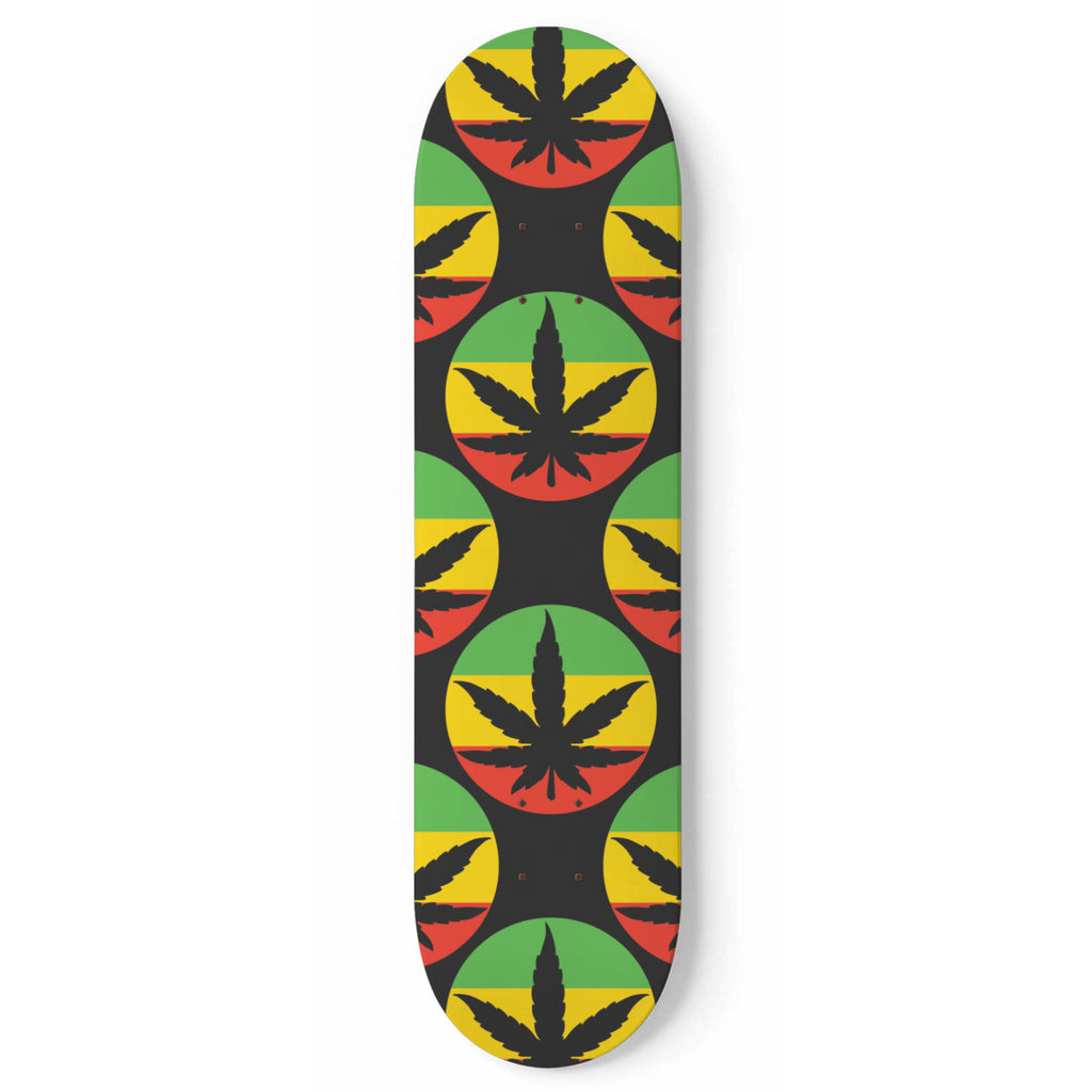 Ganga Life Skateboard Wall Art