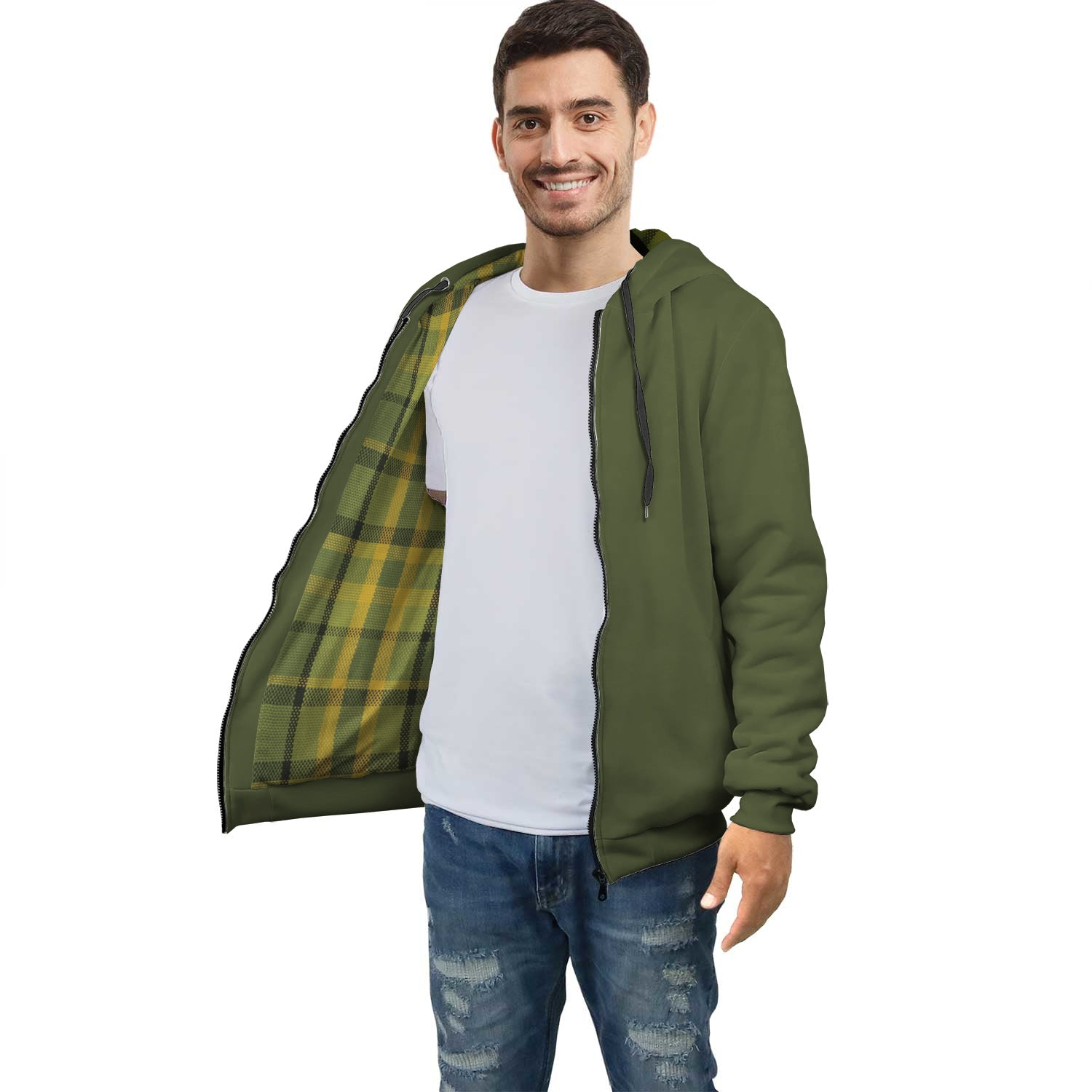 Limited Edition Westy Green Plaid Racer Hoodie