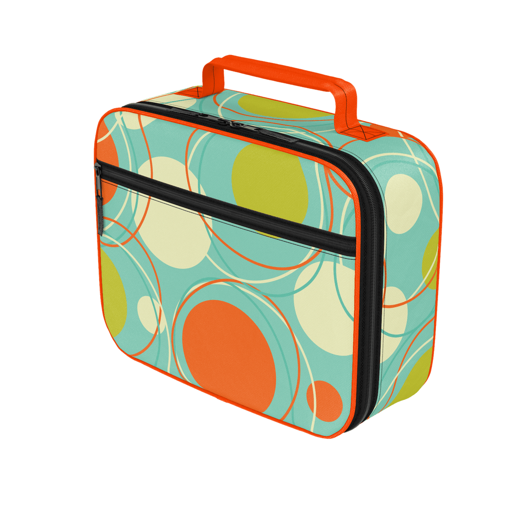 """Orbit"" Retro Pattern Lunchbox"