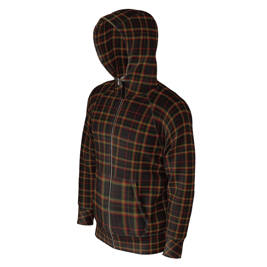 Black Rasta Plaid