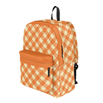 """JIGGY"" RETRO PLAID BACKPACK"