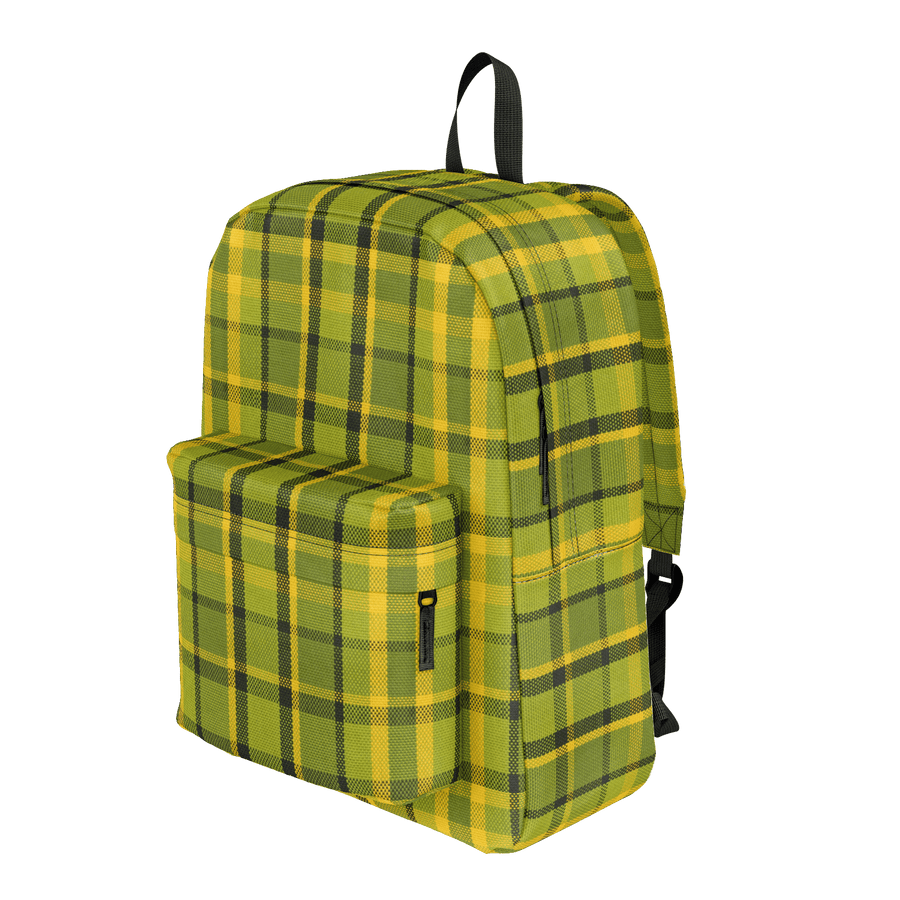 Westy Green Plaid Backpack