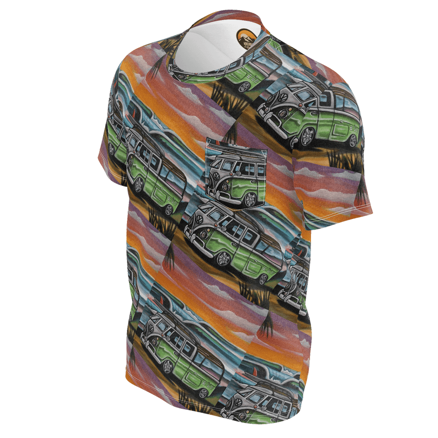 Tiled Surf Bus Shirt