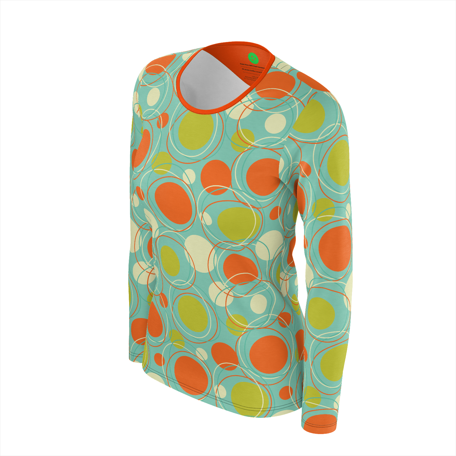 """Orbit"" Retro Ladies Longsleeve"