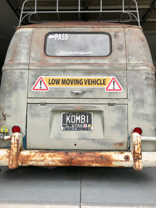 Low Moving Vehicle