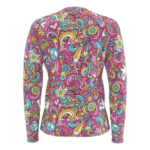 Swirled Hippie Womens Sweater