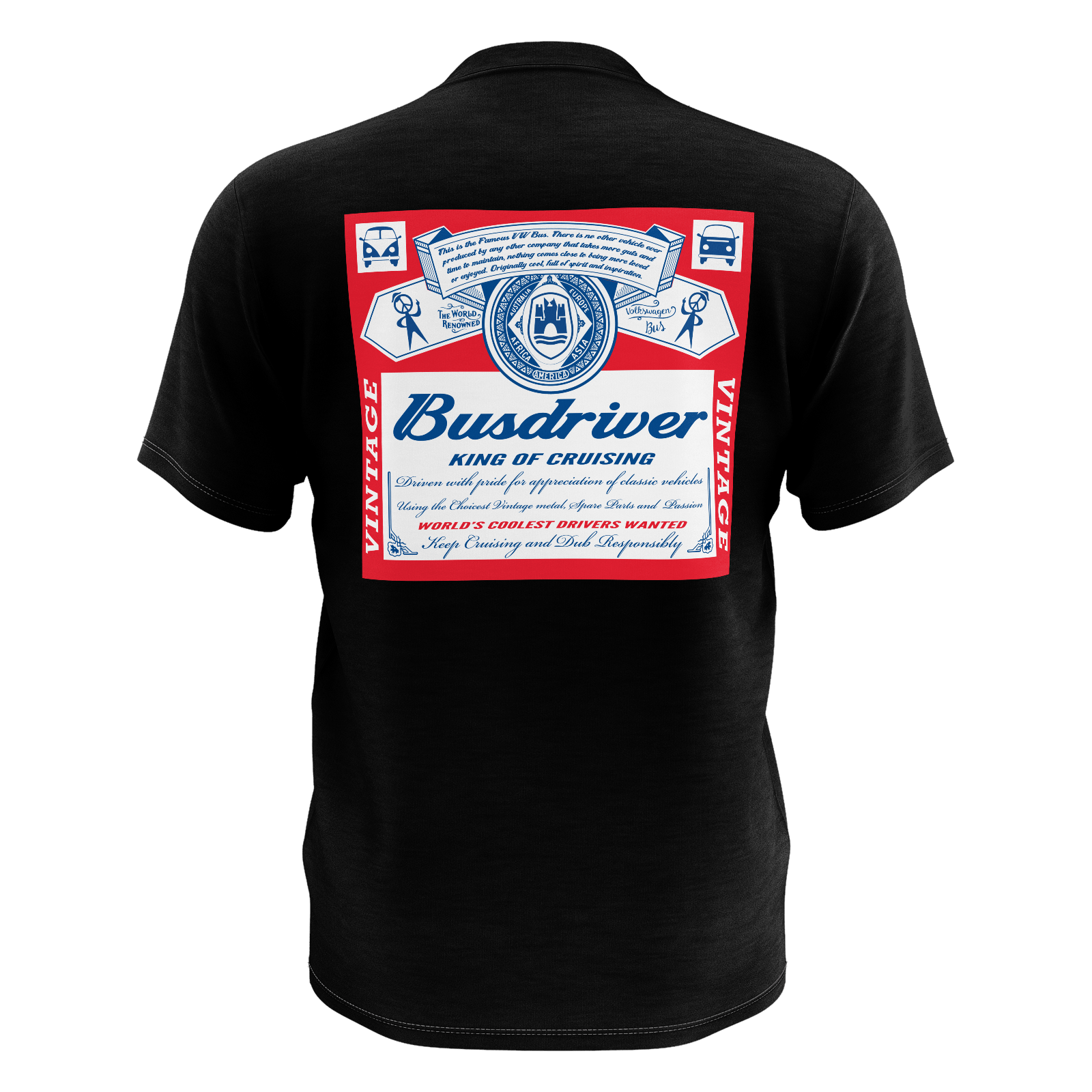 Busdriver Black Pocket Tee
