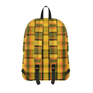 Westy Yellow Plaid Backpack