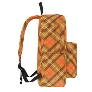 Rad Orange Plaid