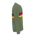 German Retro Stripe RPET Longsleeve