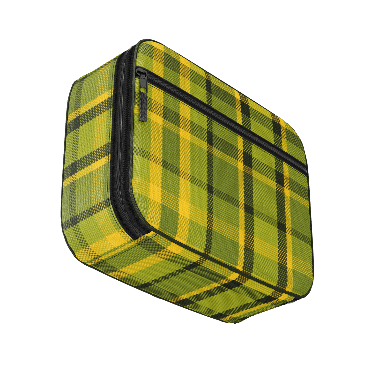 """Westy Green"" Retro Plaid Lunchbox"