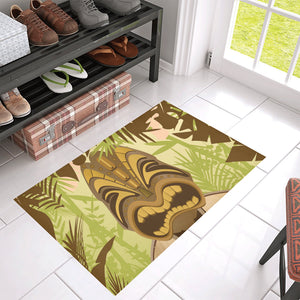 Tiki Head Doormat